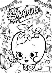 shopkins desenhos colorir imprimir pintar desenhos pintar colorir