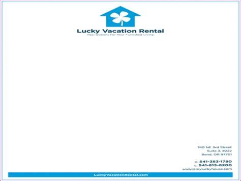 Rent A Letterhead My Lucky House Sublime Creative Agency