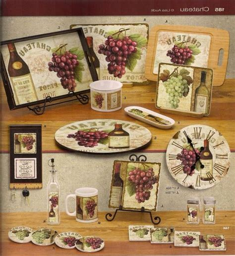 Grape Decorations For Kitchen by Grapes Kitchen Decor Ideas Kitchen Decorating Inspiration 5569 Grape Grapevine Kitchen