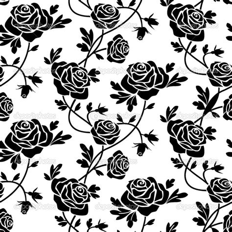 black and white rose pattern 15 best images about black and white patterns on pinterest
