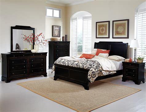 homelegance derby run bedroom set black sand through