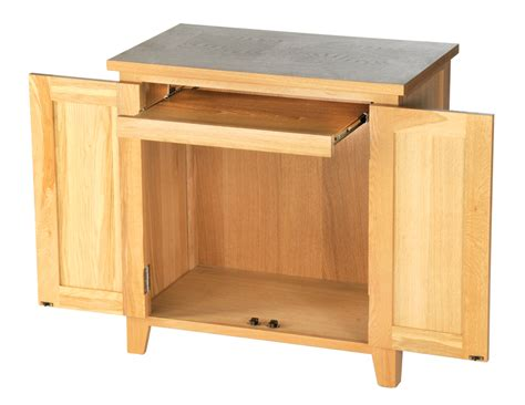 Closed Cupboard Aston Solid Oak Furniture Computer Desk Study Table
