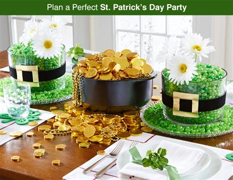 st s day office food ideas st patricks day table pered chef us site