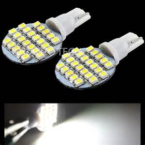 Interior Led Light Bulbs 10x T10 921 194 Rv Trailer Interior 12v Led Light Bulbs 24 Smd Ebay