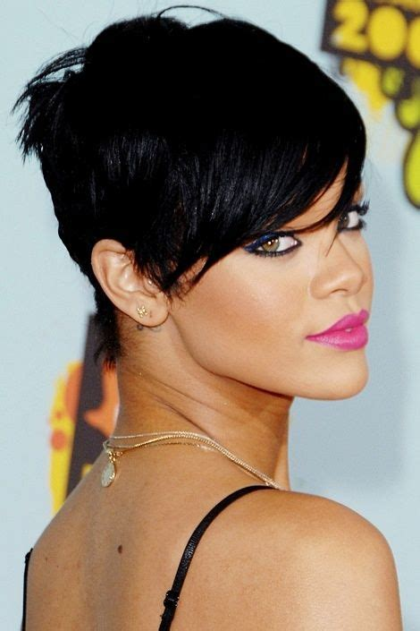 will rhianna pixie work with oblong faces 25 best ideas about high forehead on pinterest oval