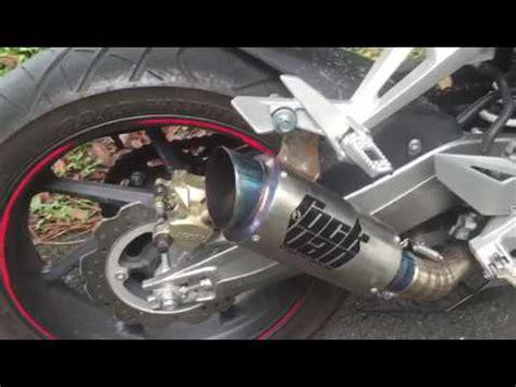 Knalpot Prospeed Cbr 250 Black Carbon Sport Fullsystem cbr250rr sportisi gpr exhaust doovi