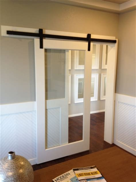 Barn Door With Glass Barn Doors Barn Door Track The Glass Door Store