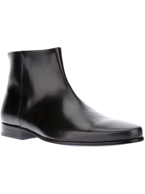 kenzo mens boots kenzo thybald ankle boot in for black lyst