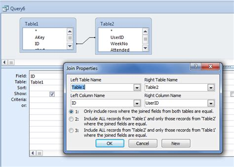 inner join select query sql access inner join of 4 tables stack overflow