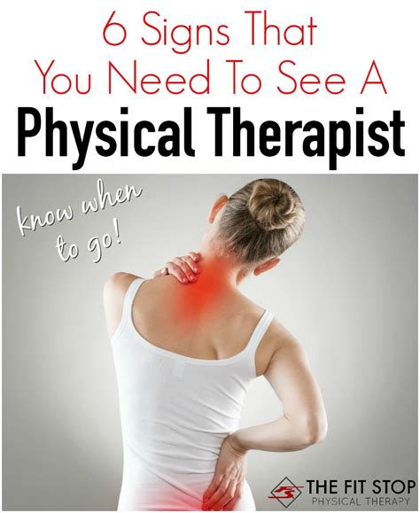 6 Signs You Need To Go On A Vacation signs you need to see a doctor fit stop physical therapy