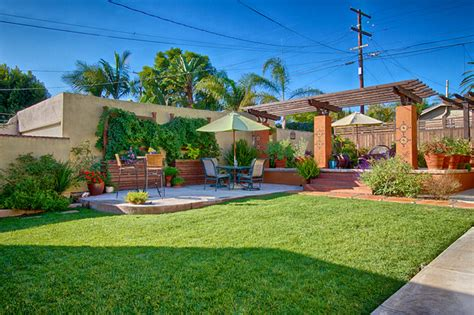 San Diego Spanish Backyard Mediterranean Patio San Diego By Mooch Exterior