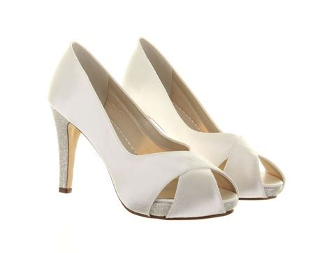 Wide Fit Wedding Shoes Safia Rainbow Club Dyeable Bridal Shoes