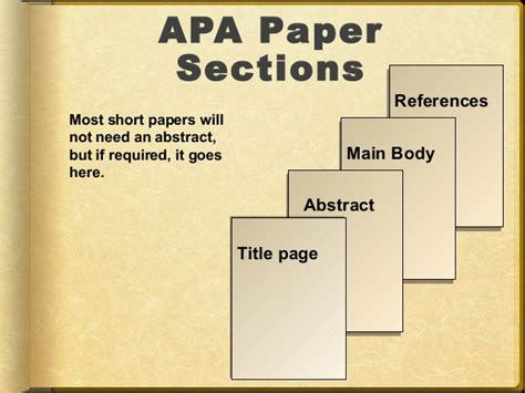 Apa Paper With Headings