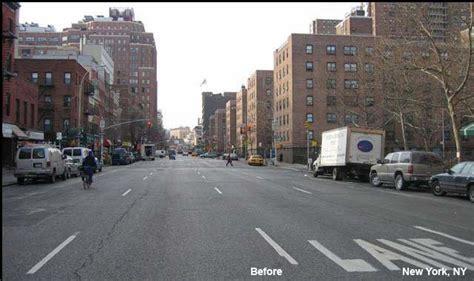 avenue  street protected bike path  york ny national association  city