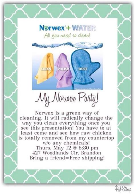 printable norwex invitations norwex party invitation gangcraft net