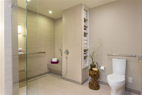 modern handicap bathrooms accessible barrier free aging in place universal design