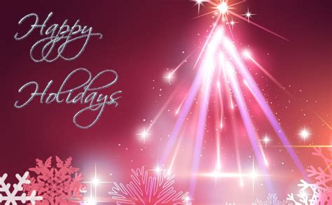 pink christmas tree happy holiday wallpaper desktop hd wallpaper   image picture