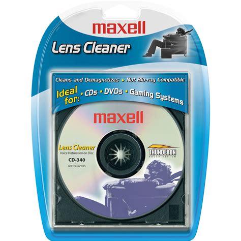 lens cleaner maxell cd 340 lens cleaner 190048 b h photo