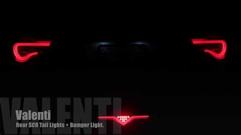 Valenti Lights by Valenti Rear Bumper Lights Frs Brz Gt86