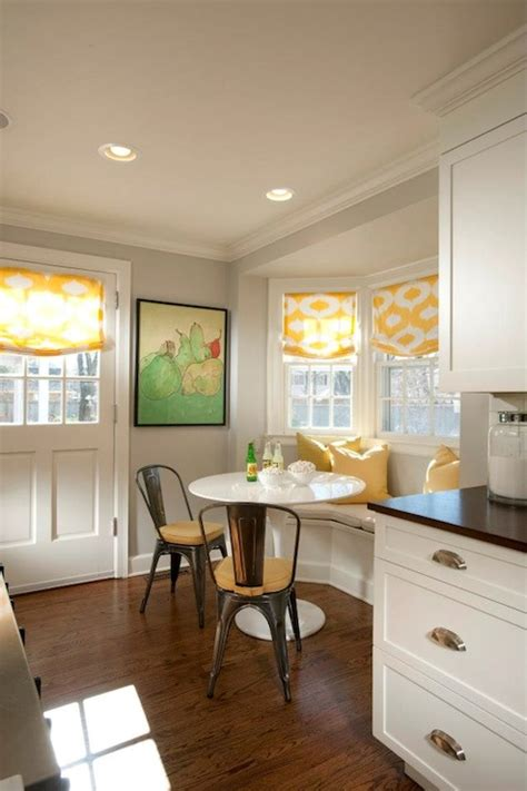 kitchens with banquettes curved dining banquette transitional kitchen tiffany farha design