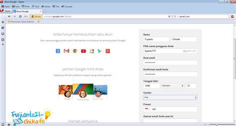 cara membuat akun gmail aman cara membuat akun email baru di gmail gratis fujianto21