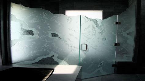 Decorative Glass Shower Doors Decorative Glass Shower Doors Designs For A Bathroom Ideas