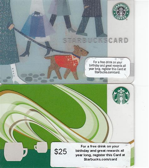 Starbucks Holiday Gift Cards - starbucks 2009 holiday 2010 gift cards historical political memorabilia