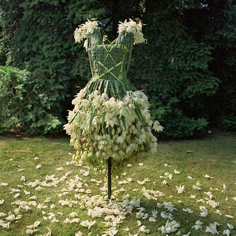 What Are Weedrobes by Weedrobes Prom Dress Created From Yucca Plant Neatorama