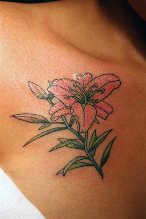 dragon lily tattoo 44 best with designs images on