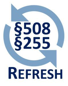 section 508 refresh section 508 pdf association