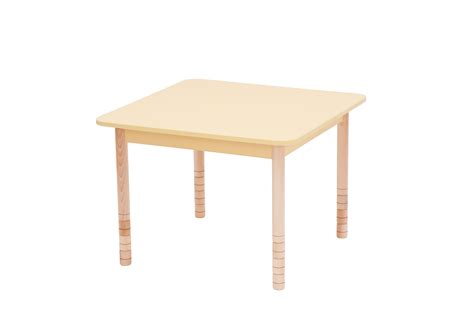 adjustable height square table height adjustable wooden table square preschool supplies