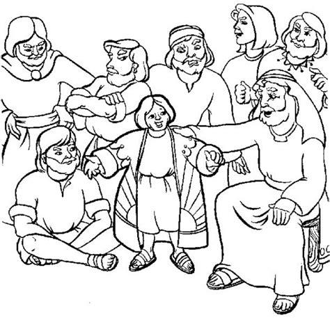 sekolah minggu ceria mewarnai cerita cerita alkitab untuk sekolah minggu ceria cerita alkitab yusuf dan jubah warna
