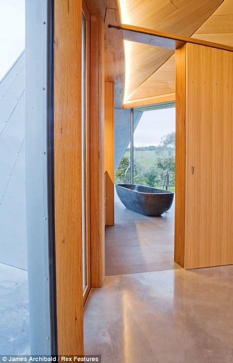 b2 bomber bathroom the stealth bomber house award winning australian home