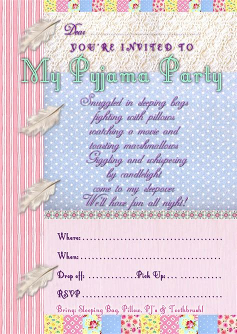 free printable invitation uk free kids party invitations pyjama party invitation