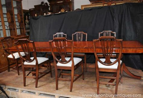 Dining Table Sets For 20 Regency Dining Set Table Chair Suite 8 Shieldback Chairs