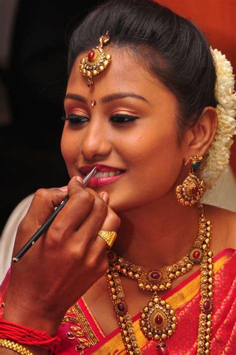 Wedding Hair And Makeup South by South Indian Brides Makeup Makeup Vidalondon