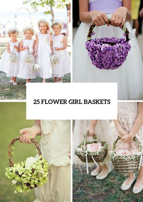 Flower Wedding Baskets by 25 Lovely Flower Basket Ideas To Try Weddingomania