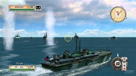 pt boat battleship game battlestations midway xbox 360 gameplay lombok pt boat