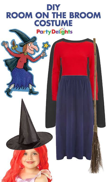 The Witch Day easy diy room on the broom costume world book day ideas