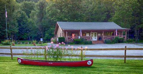 Delaware Cgrounds With Cabins by Kittatinny Cground Delaware Canoeing Kayaking The Delaware River White Water Rafting