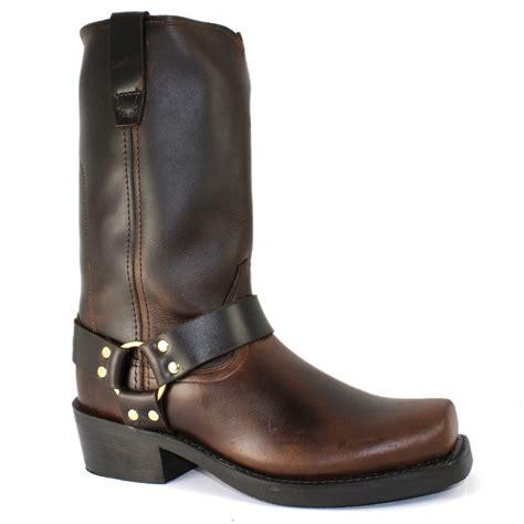 mens engineer boots durango gambler engineer style mens boot brown