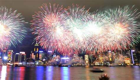 new year fireworks hong kong time 2019 new years celebrations in hong kong
