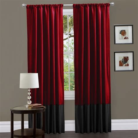 black and red bedroom curtains black and red curtains for bedroom home design ideas