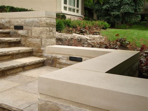 Indiana Limestone Stone Pool Wall Coping Patio Banding Garden Wall Coping Stones