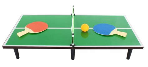 children s table tennis table new portable kids table top tennis ping pong game bat ball