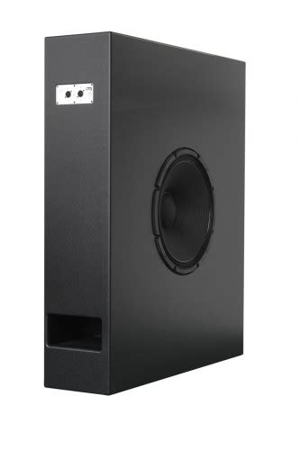 subwoofer behind couch cb181sl alcons audio