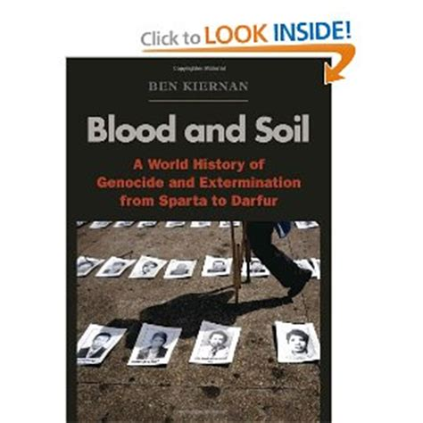 blood and soil a ben kiernan blood and soil ann novek with the sky as the ceiling and the heart outdoors