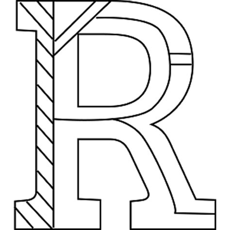 r coloring pages coloring pages