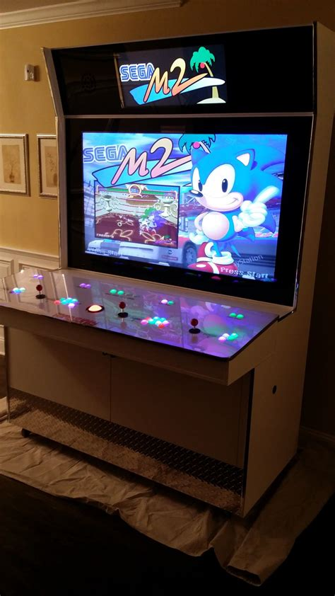 custom arcade cabinet for sale my creation the custom gamejunky arcade cabinet