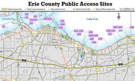 Erie County Records Ohio Ohio Dnr Lake Erie Access Guide Erie County